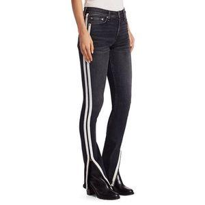 Rag&Bone Cate Mid-Rise Skinny Flare Jeans